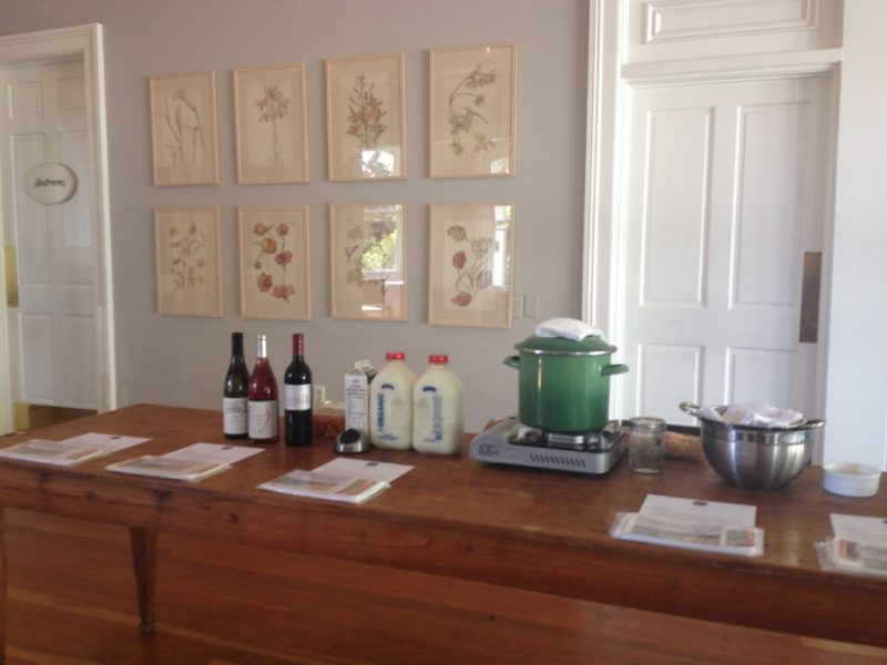 Cheesemaking Class with Wine Tasting at J. Rickards Winery @ J. Rickards Vineyard | Cloverdale | California | United States